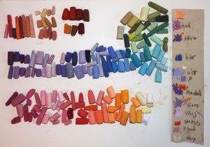 Palett och minnesnoteringar